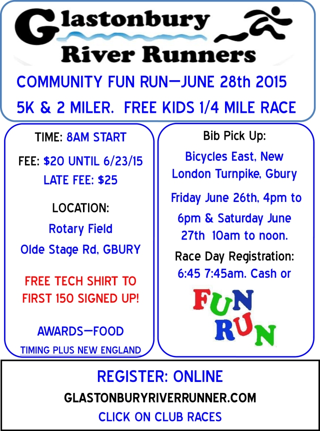 6-28-15 Fun Run Race Flier